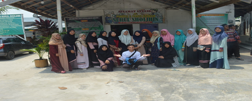 Memperingati Maulid Nabi Muhammad Saw & Go Green Bersama Youth For Yatim dan Hmps PAI Di Panti Asuhan Nurul Sholihin