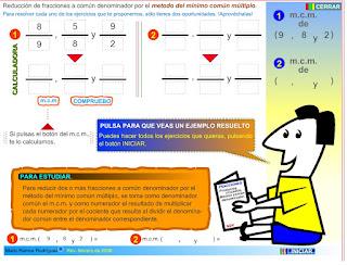 http://www.eltanquematematico.es/todo_mate/fracciones_e/ejercicios/fracciones_mcm_p.html