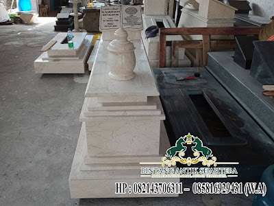 Model Makam Batu Marmer