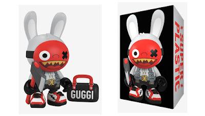 "Bad Bunny Fashion EDC SuperGuggi 8"" Vinyl Figure by Superplastic"