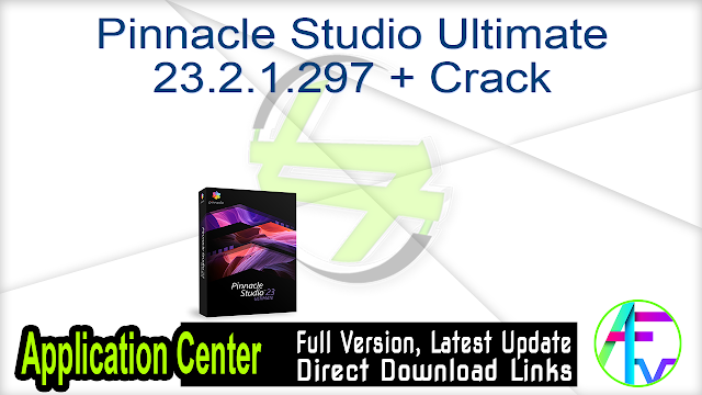 Pinnacle Studio Ultimate 23.2.1.297 + Crack