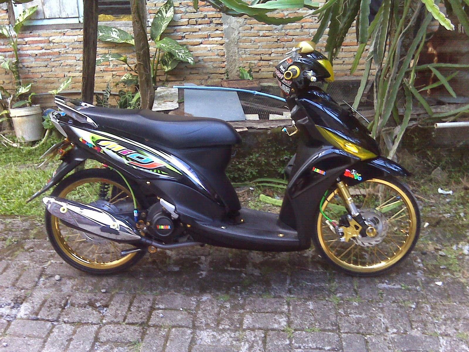 Koleksi 81 Modifikasi Motor Mio J Sporty Terkeren Dinding Motor