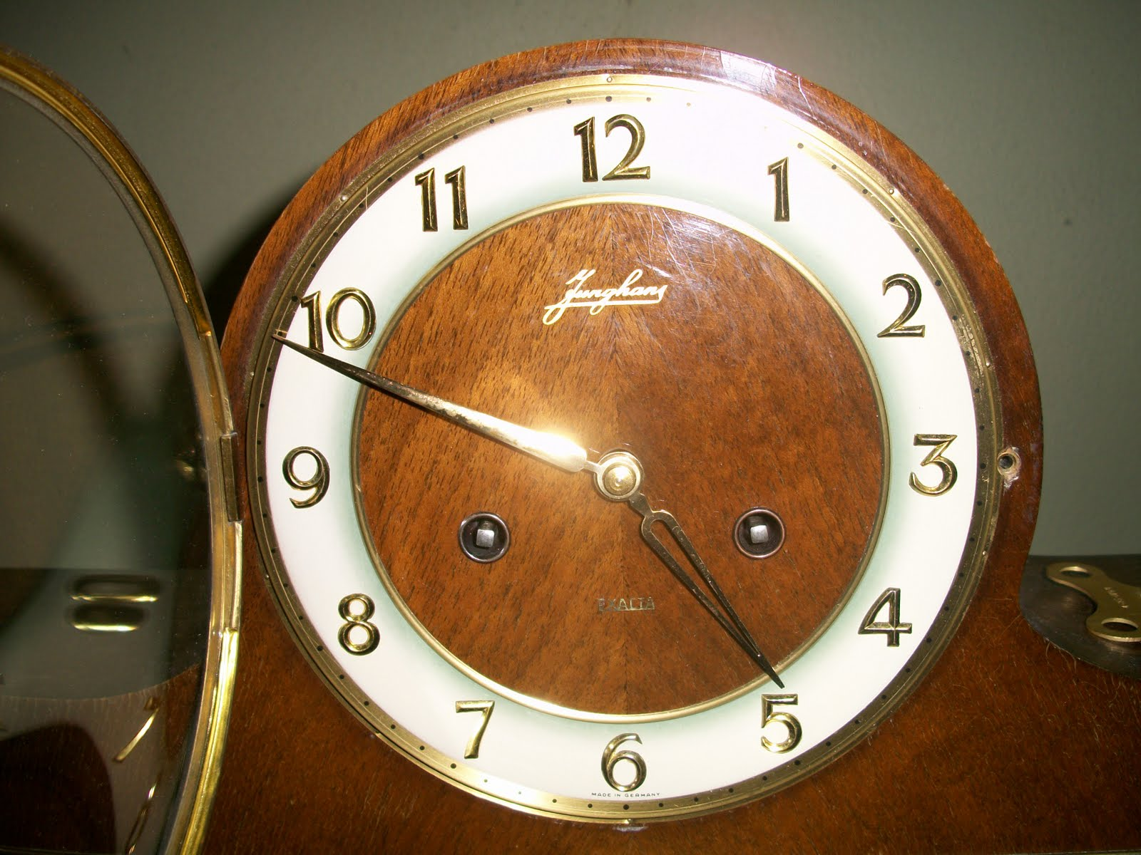 Collectible Items Vintage Junghans Mantle Clock