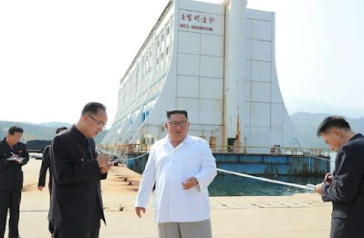 North Korea to rebuild flagship resort