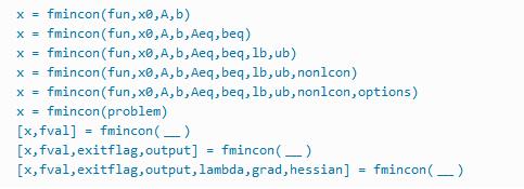 MATLAB Syntax