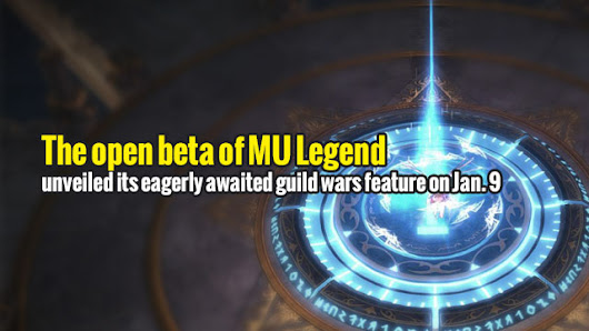The open beta of MU Legend unveiled its eagerly awaited guild wars feature on Jan. 9