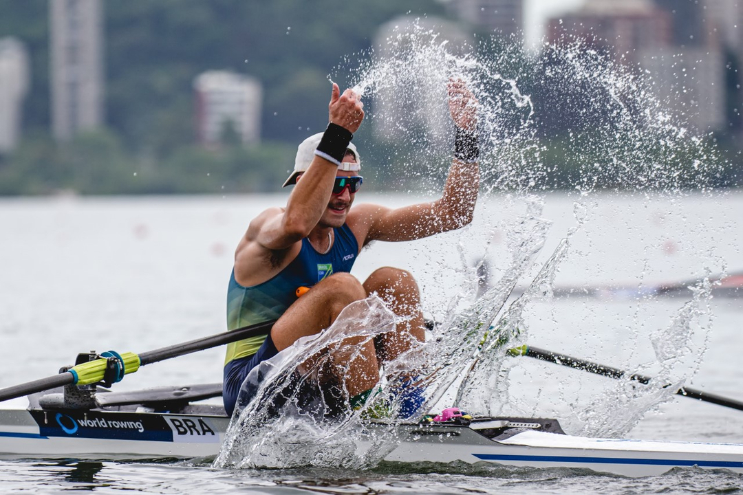 Lucas Verthein é o único remador brasileiro garantido nos Jogos Olímpicos de Tóquio