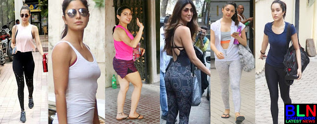Why bollywood celebrity choose public gym - Bollywood Actress & Actor in Public Gym