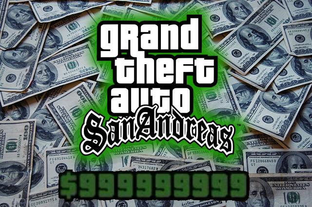 GTA SAN ANDREAS UNLIMITED MONEY MOD