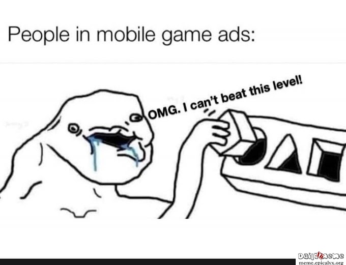 People in Mobile Game Ads