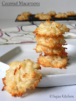 How bake easy coconut macaroons