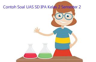 Contoh Soal UAS SD IPA Kelas 2 Semester 2