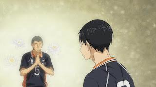ハイキュー!! アニメ 2期12話 田中龍之介 | HAIKYU!!  Ohgiminami high vs Karasuno