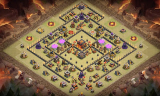 Town Hall 10 War Base