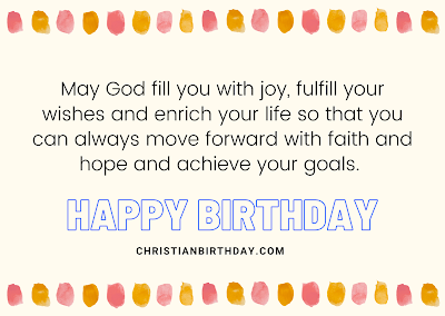 Christian birthday image quotes