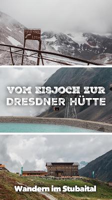 Stubaital - Vom Eisjoch zur Dresdner Hütte Gletscherpfad und Gletscherweg | Wanderung-Stubaital | Wandern-Tirol