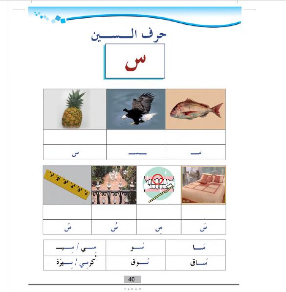 تدريبات شاملة جميع الأحرف لغة عربية صف أول ابتدائي  فصل أول