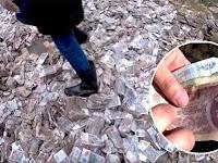 Temukan Harta Karun Senilai Lebih dari Rp. 233 Milyar, Nasib Pria ini Kurang Beruntung