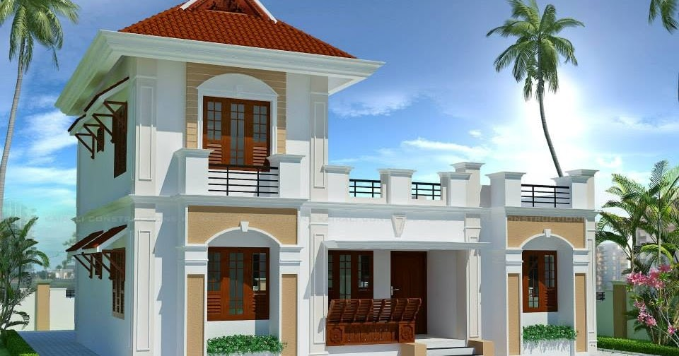 3 bedroom house plan in 7 cents kerala house plans for House plans in 5 cents