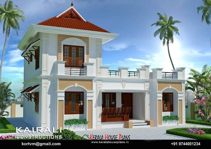3 Bedroom House plan in 7 Cents