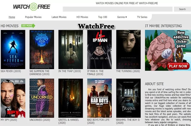WatchFree : Watch TV Online Free Streaming