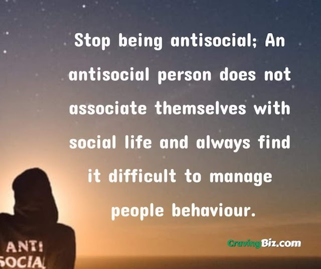 How To Stop Being Antisocial And Stop Being Alone