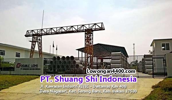 Lowongan Kerja PT. Shuang Shi Indonesia Cikarang