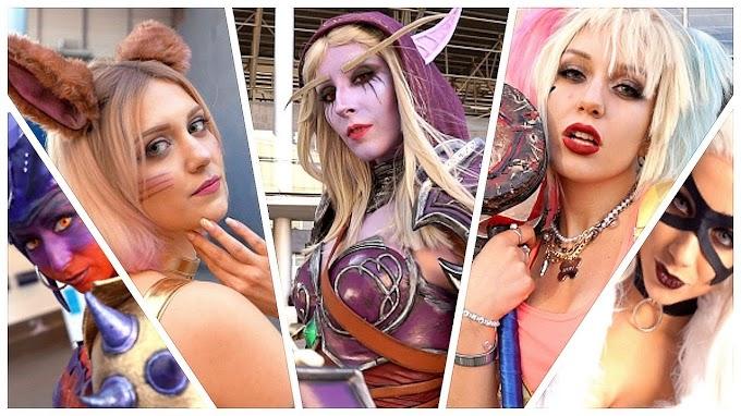 Aun mas cosplay desde Japan Weekend