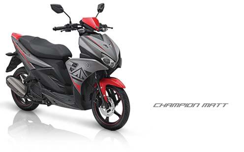 Spesifikasi dan Harga Yamaha Aerox 125LC Terbaru