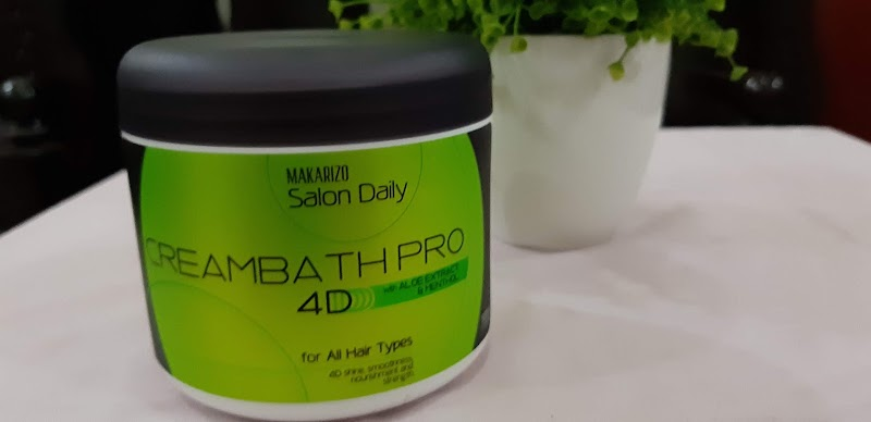 Review : Makarizo Salon Daily Creambath Pro 4D with aloe extract dan menthol