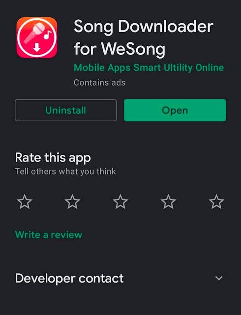 Cara Download Lagu Dari WeSing ke MP3 dan MP4