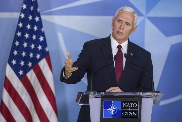 """Pence advierte que EE.UU. está """"preparado"""" para volver a atacar Siria si es necesario"""