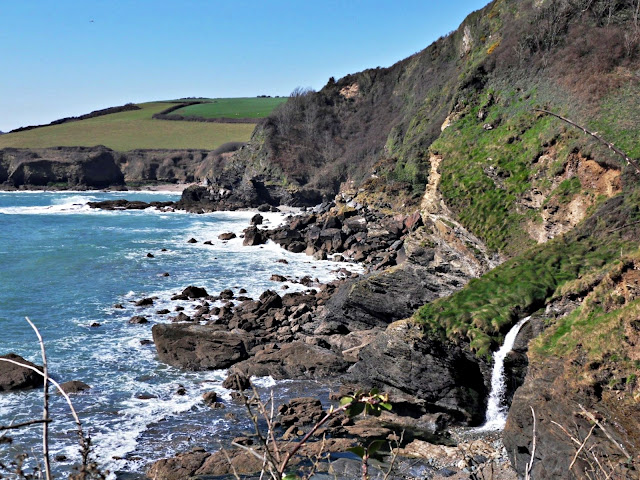 Cliffs near Trenarren, Cornwall