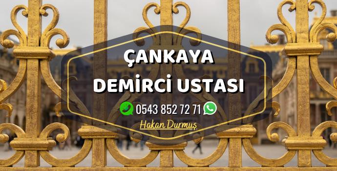 Ankara Çankayada Hizmet Veren Demirci Ustası
