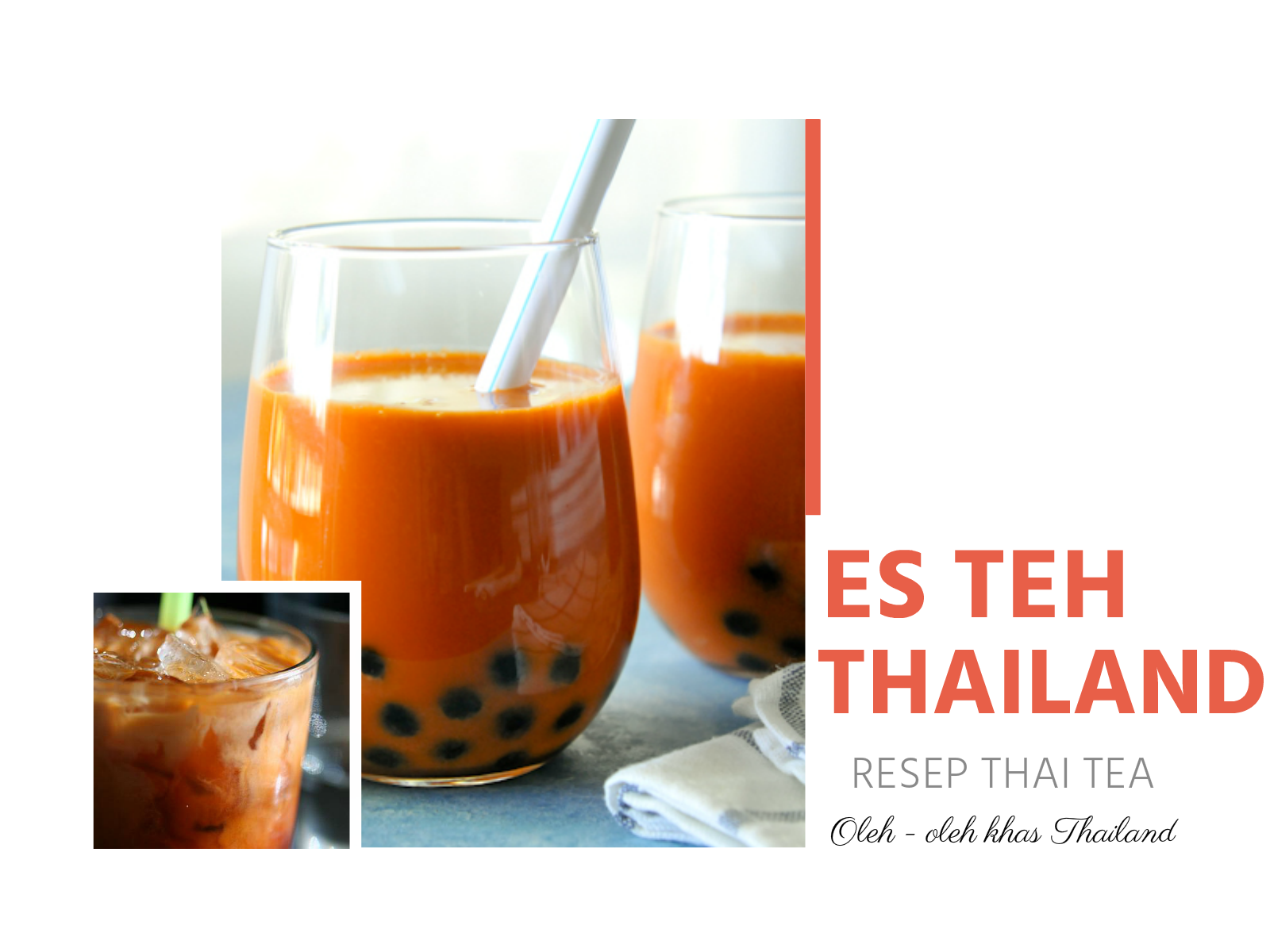 Resep Es Teh Thailand Blog Cara Ubay