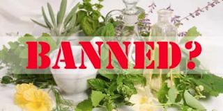 απαγόρευση των βοτανικών φαρμάκων