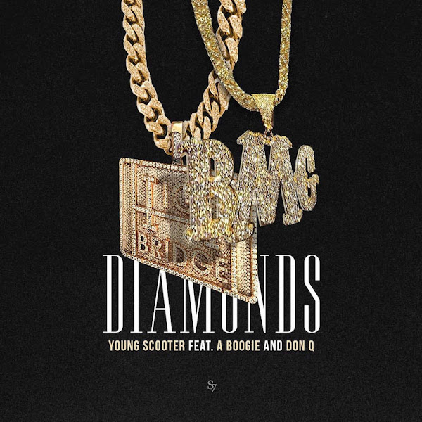 Young Scooter - Diamonds (feat. Don Q & A Boogie) - Single Cover