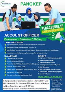 Lowongan Kerja Account Officer Bina Artha Pangkajene