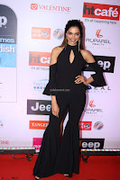 Red Carpet of Most Stylish Awards 2017 ~ Deepika Padukone in Black Gown (2).JPG