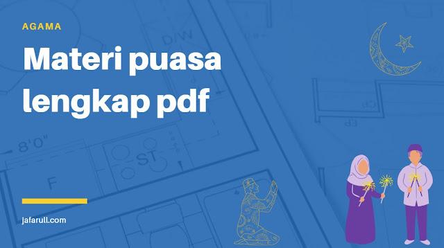 Materi puasa lengkap pdf