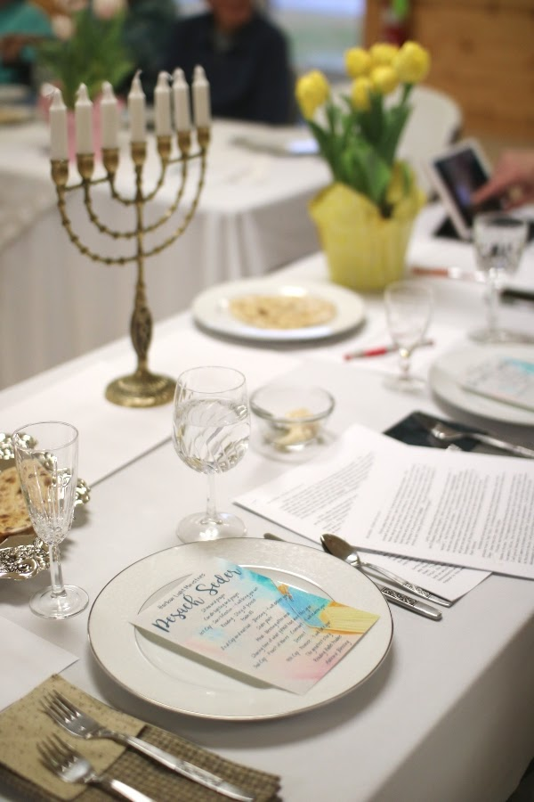 Passover tablescape | Land of Honey