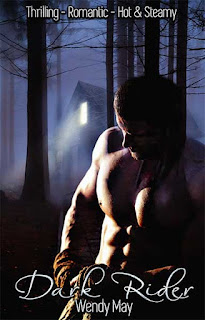 Urban Fantasy Story, Shirtless male stands within a dark forest