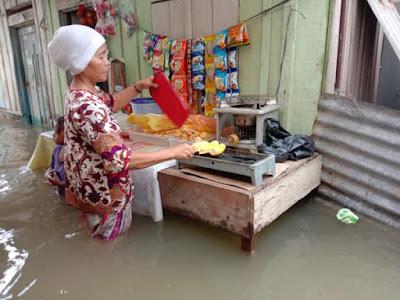 Medan Maimun terendam banjir