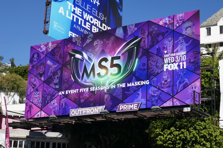 Masked Singer season 5 billboard