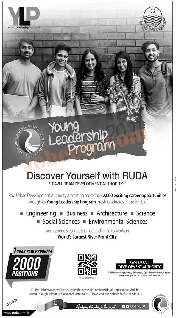 RUDA Young Leadership Program Jobs 2021 | Apply Online