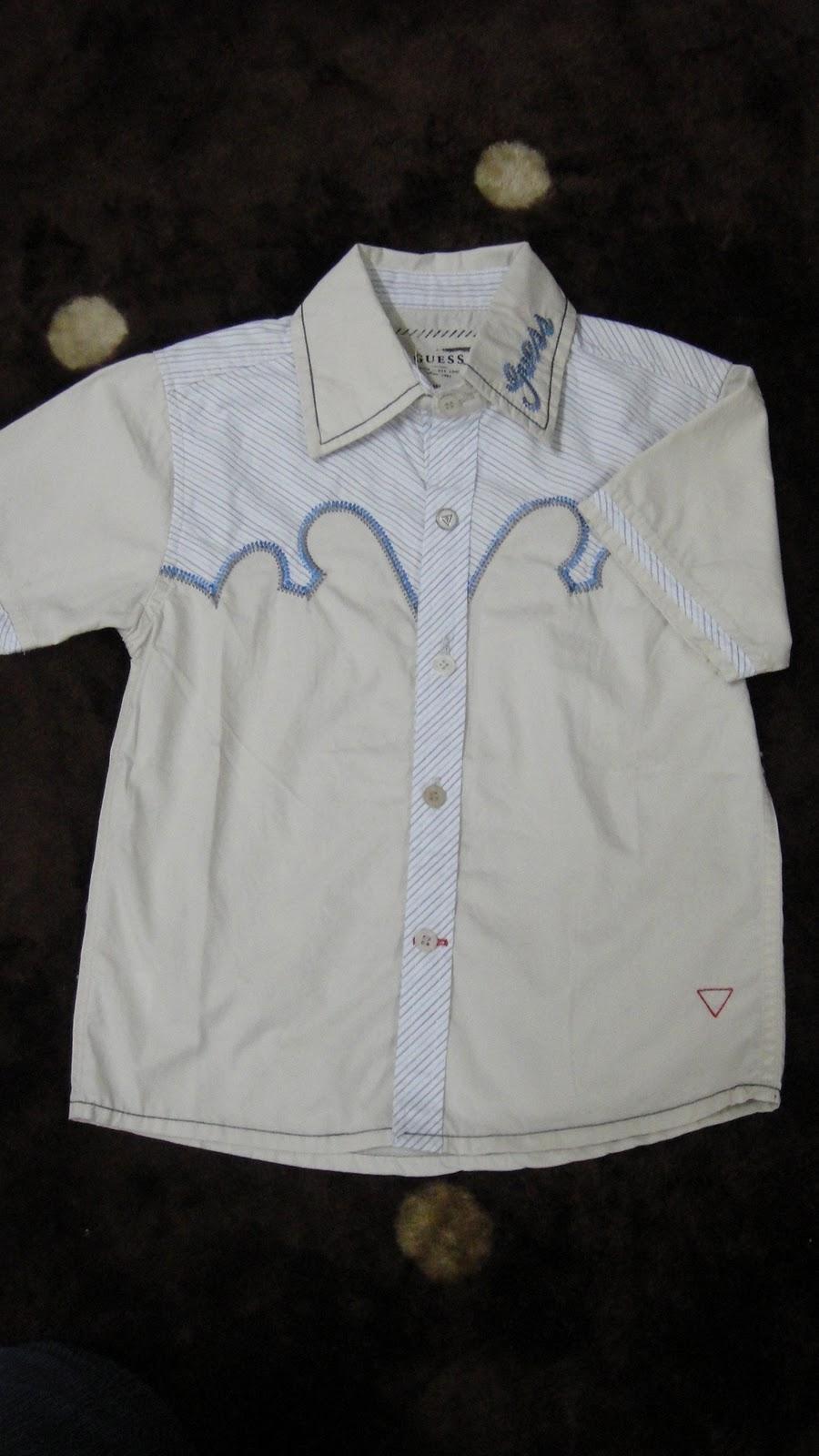 Buy Baby Clothes Kemeja Guess Buy Baby Clothes Kedai