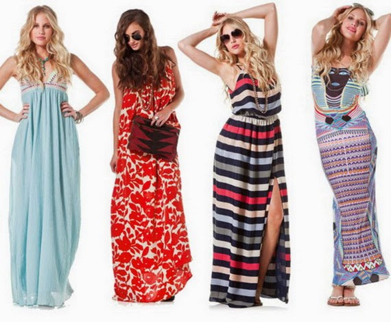 Latest Summer Spring dresses And Maxi Skirts