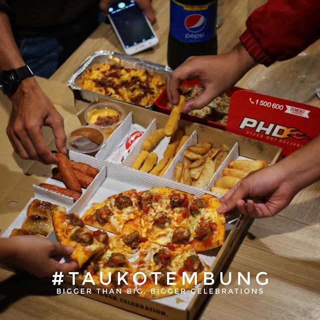 Berbagi Berkah dengan Big Box Plus Pizza Hut Delivery