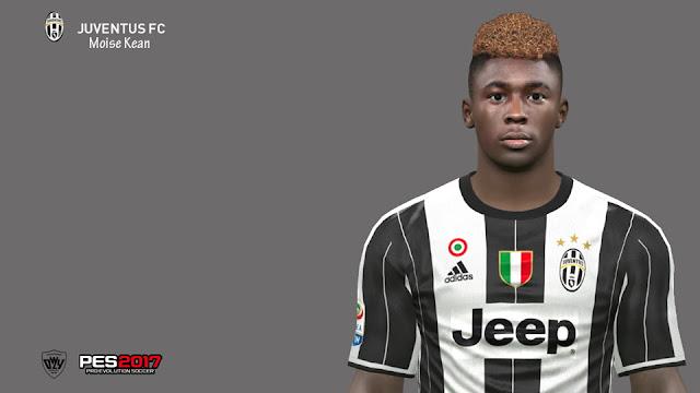 PES17/16] Moise Kean | Juventus F.C