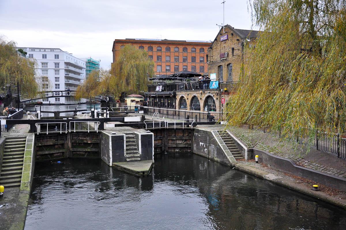 Camden Lock, Camden Town, London, England